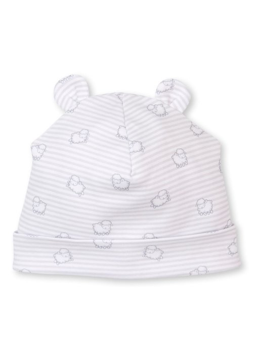 Kissy Kissy KK Hat Novelty PRT Sheep Scramble Wht/Silver
