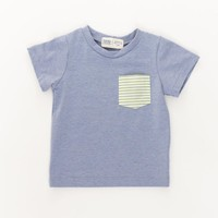 Periwinkle Pocket Tee and Short Set