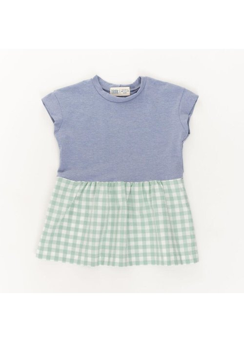 Thimble Collection Casual Dress in Periwinkle