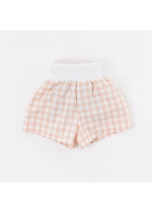 Thimble Collection Blossom Gingham Shorts