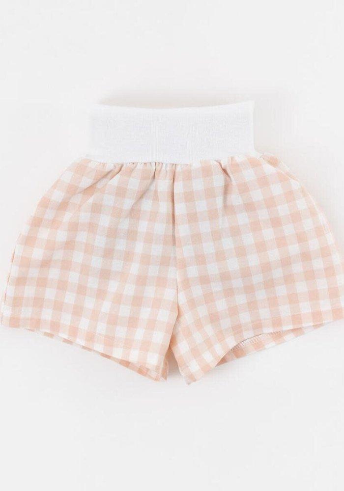 Blossom Gingham Shorts