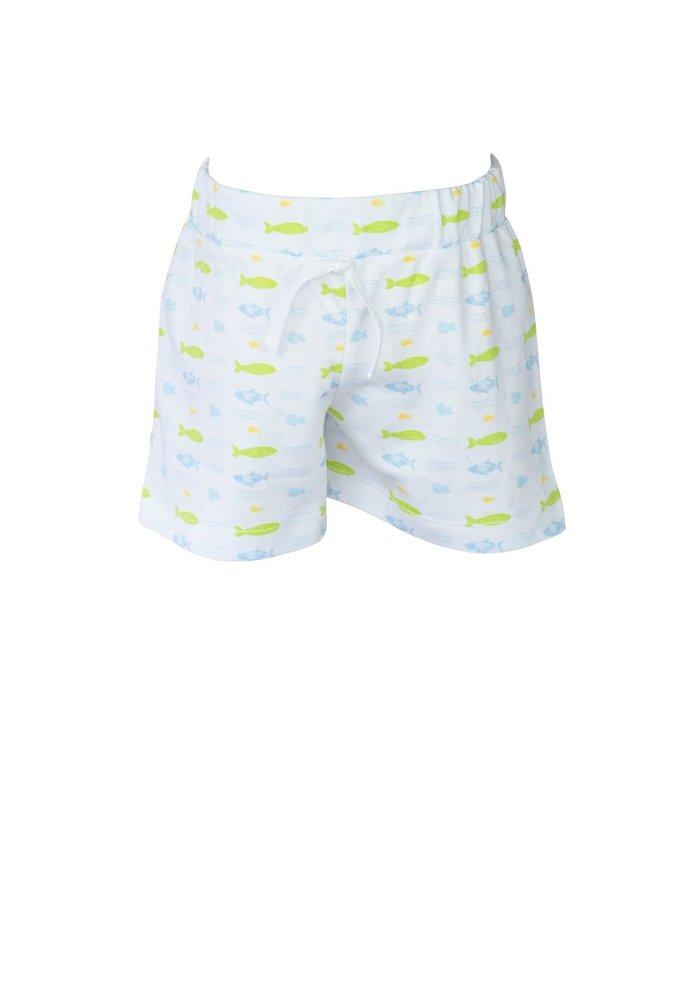 Boy Short- Fish