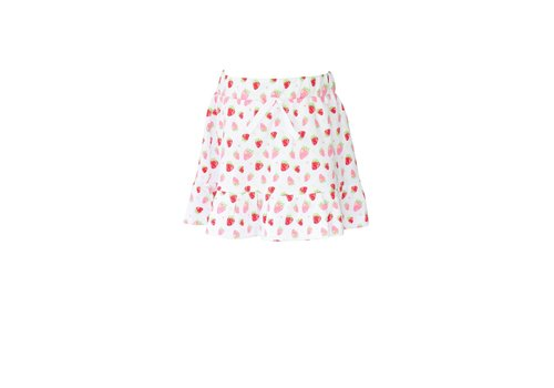 Proper Peony Knit Strawberries Skirt