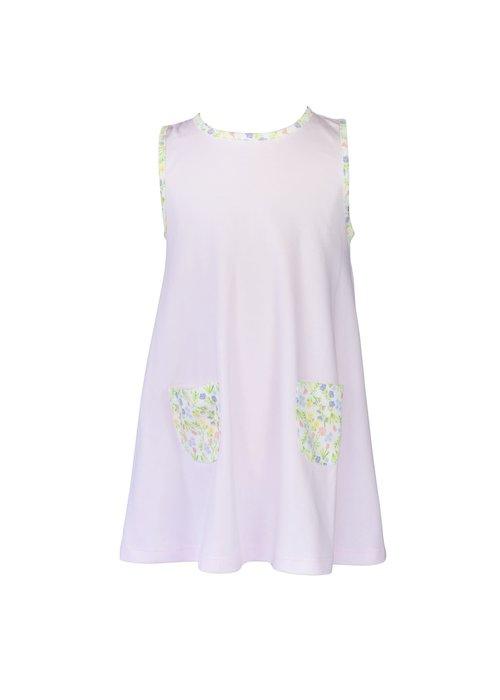 Proper Peony Garden Floral A-line Dress
