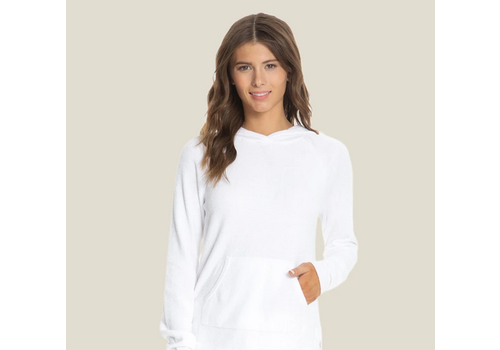 Barefoot Dreams BFD Cozy Chic Ultra Lite Pullover Sea Salt