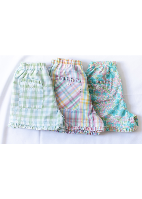 Peggy Green PG Girls Two Pocket Short