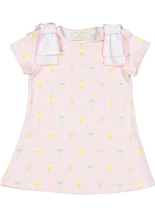 Sal & Pimenta S&P A-line Dress - I Melt For You