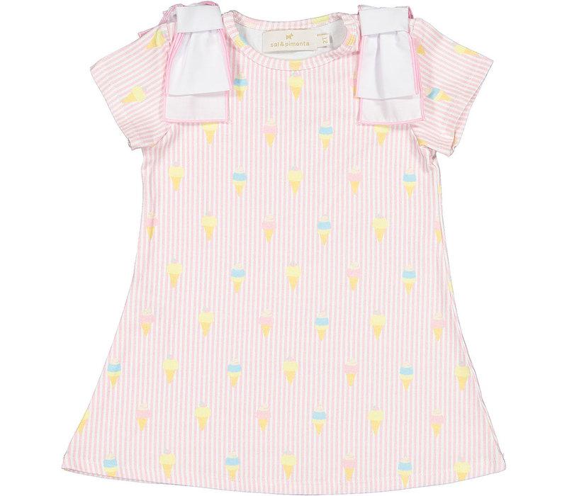 S&P A-line Dress - I Melt For You