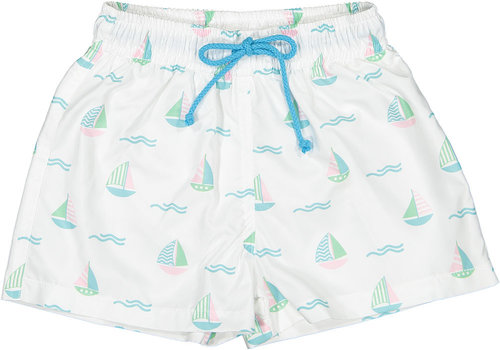 Sal & Pimenta S&P Boys Swim Trunks - Set Sail