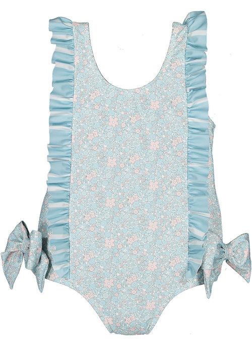 Sal & Pimenta S&P Girls Swimsuit - Amaryllis Blossom