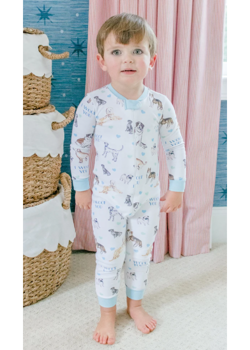 Grace and James G&J Loungewear Onesie - I Woof You