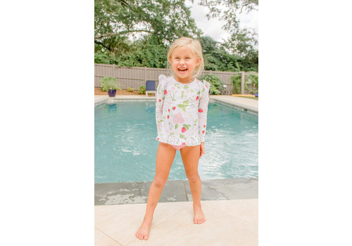 Grace and James G&J Strawberry Rash Guard Set