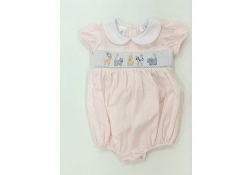 Lulu Bebe Smocked Animal Birthday Bubble