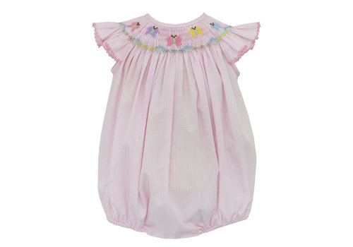 Petit Bebe PB Butterflies Angel Wing Bishop Bubble lt pk mini ck