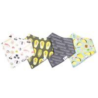 CP Baby Bandana Bib 4/pk Set (More Colors Available )