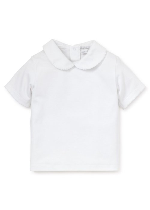 Kissy Kissy KK Basics S/S Tee w/Collar - Girl