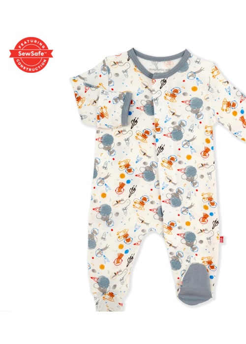 Magnetic Baby MAG Astro Pups Modal Magnetic Footie