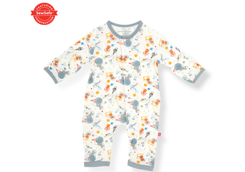Magnetic Baby MAG Astro Pups Modal Magnetic Coverall