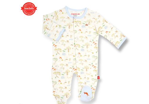 Magnetic Baby MAG Land Down Under Organic Ctn Magnetic Footie