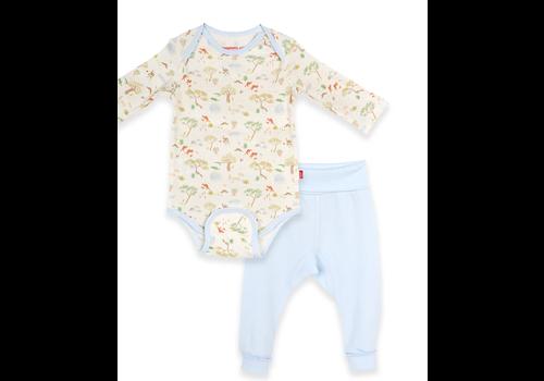 Magnetic Baby MAG Land Down Under Mag Bodysuit & Harem Pant Set