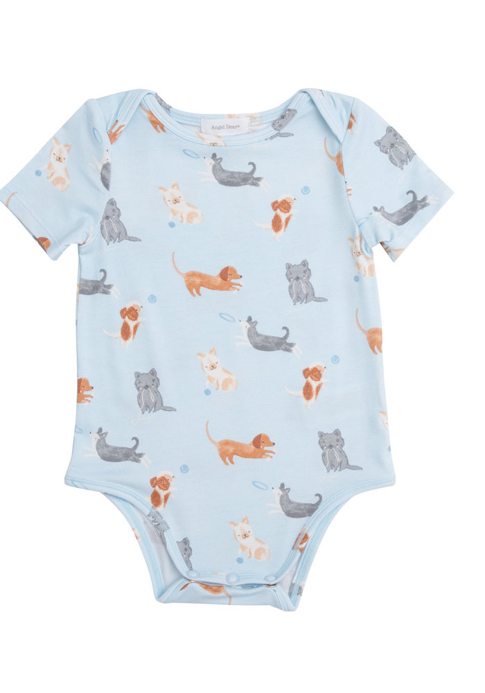 AD Puppy Play Bodysuit in Blue