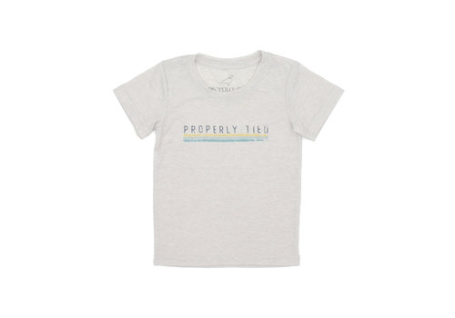 Properly Tied PT Portland Tee SS Laguna Polo in Natural
