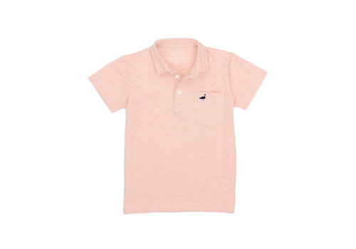 Properly Tied PT Harrison Pocket Polo in Melon