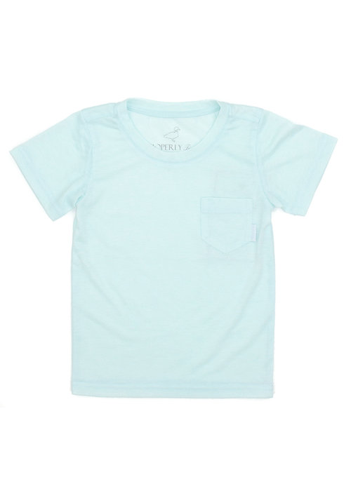 Properly Tied PT Portland Pocket Tee S/s in Seafoam