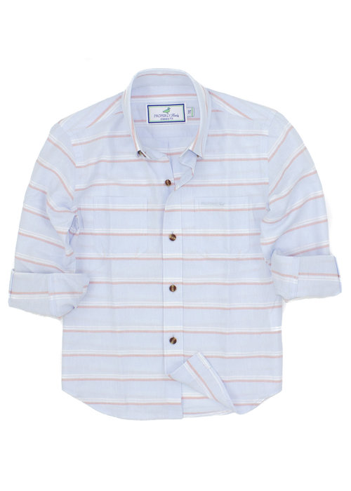 Properly Tied PT Boardwalk Shirt in St. John Stripe