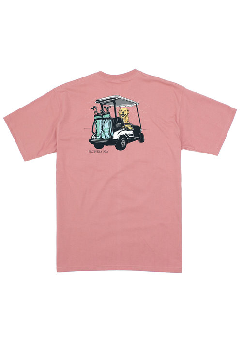 Properly Tied PT Ruff Riding S/s Tee in Salmon