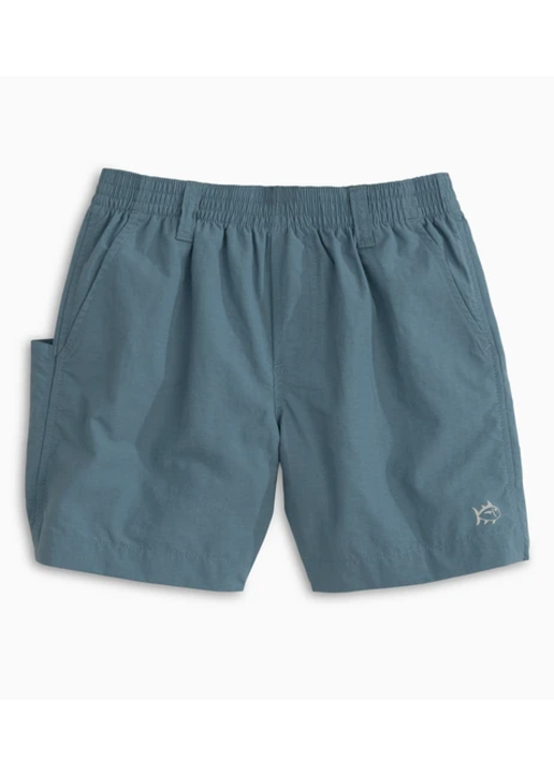 Southern Tide ST Boys Youth Shoreline Short in Blue Wave