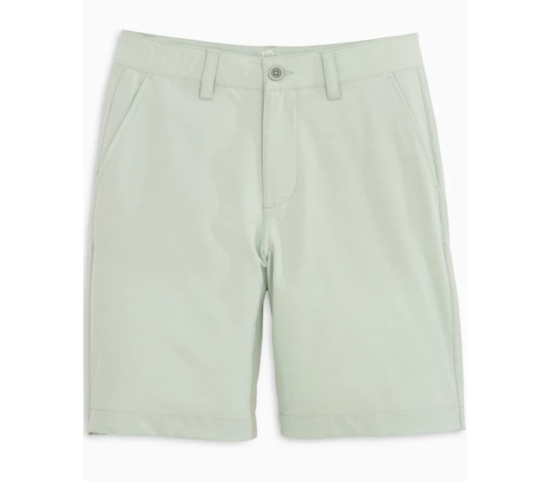 ST Boys Youth T3 Heather Gulf Short in Harbor Grey