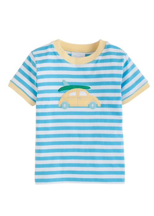 Little English LE Applique T-shirt - Dune Buggie