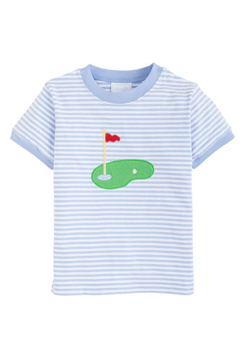 Little English LE Applique T-shirt - Golf Lt. Blue