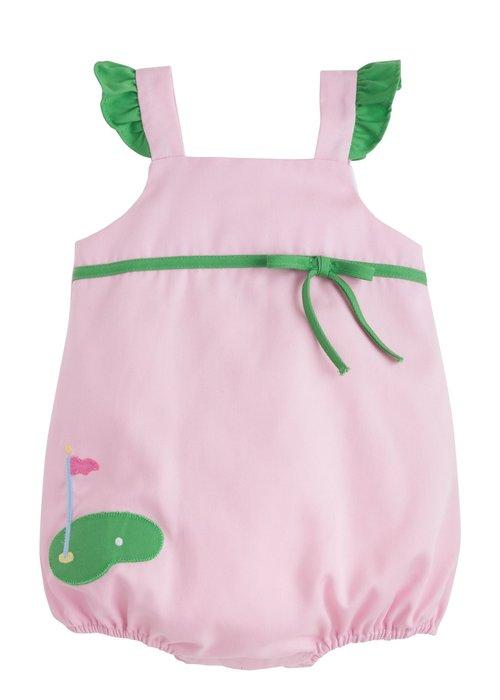 Little English LE Augusta Bubble Golf - Pink w/Gr Trim