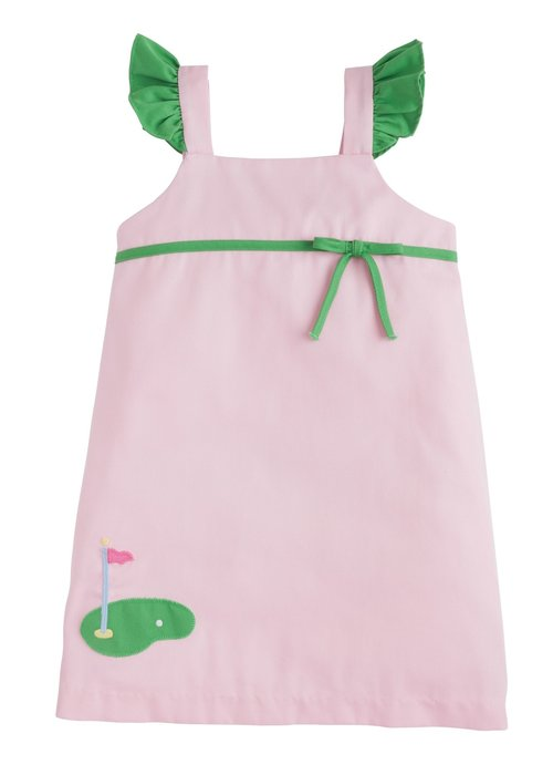 Little English LE Augusta Dress - Golf Lt Pink Twill
