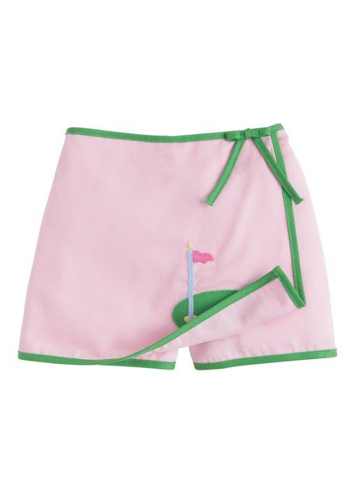 Little English LE Augusta Skort - Pink Twill