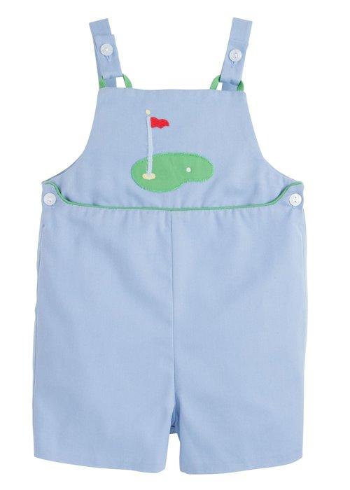 Little English LE Barnes Shortall Golf in Lt Blue Twill