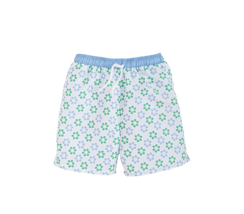 LE Board Short - Sanibel (Blue/green floral)