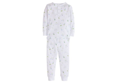 Little English LE Boy Printed Pajamas - Golf