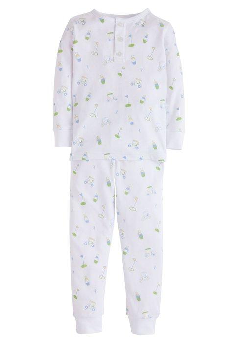 Little English LE Boy Printed Pajamas - Golf