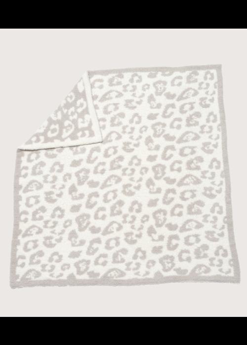Barefoot Dreams BFD Cozychic BITW Baby Blanket - Stone/Cream