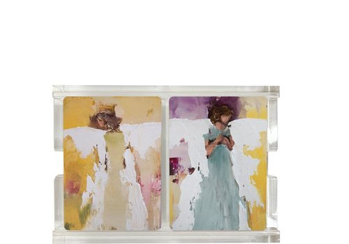 Anne Neilson AN Angel Two Pack Playing Cards