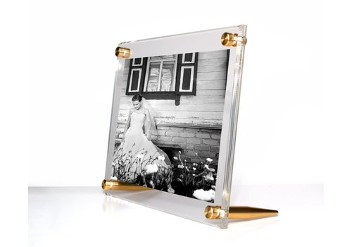 Tabletop frame w/Gold 4x6
