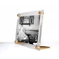 Tabletop frame w/Gold 5x7