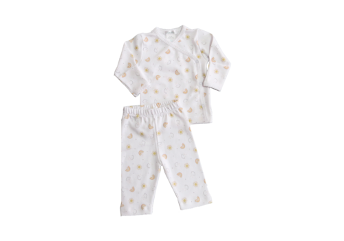 Lyda Baby LB 2 Piece Set - Perfect Summer Print Wht/Wht