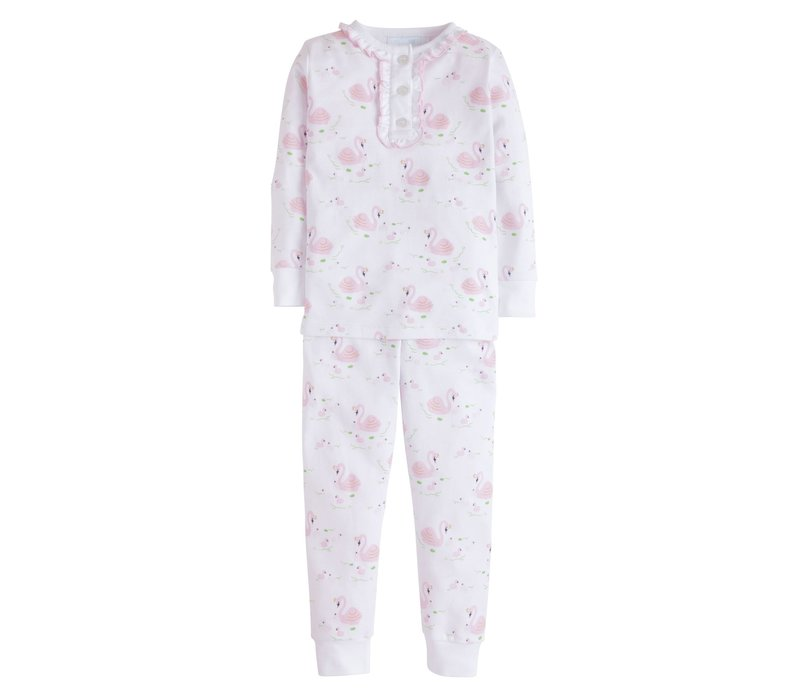 LE Girl Printed Pajamas - Swan Lake