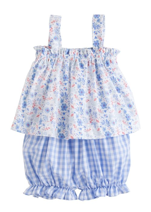 Little English LE Kylee Bloomer Set - Rosemary Floral