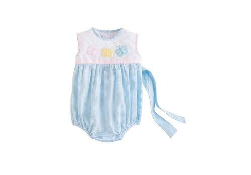 Little English LE Marisa Bubble - Butterfly Blue Seersucker