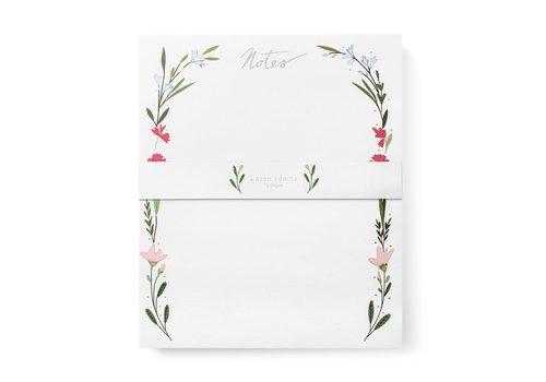 Karen Adams KA Notepad - Floral